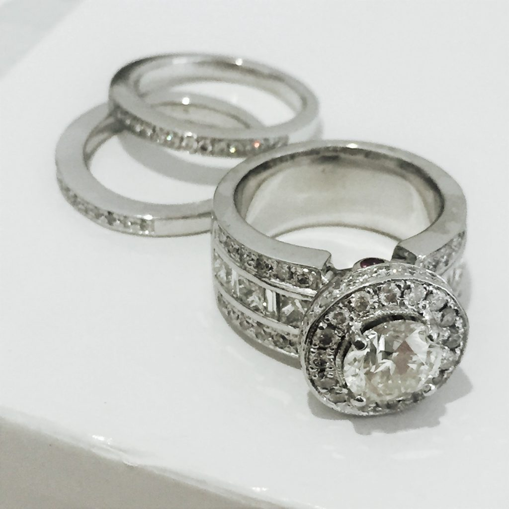 Rhodium Plating on your White Gold Rings