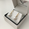 8.5mm 'AAA' Freshwater Pearl Earrings
