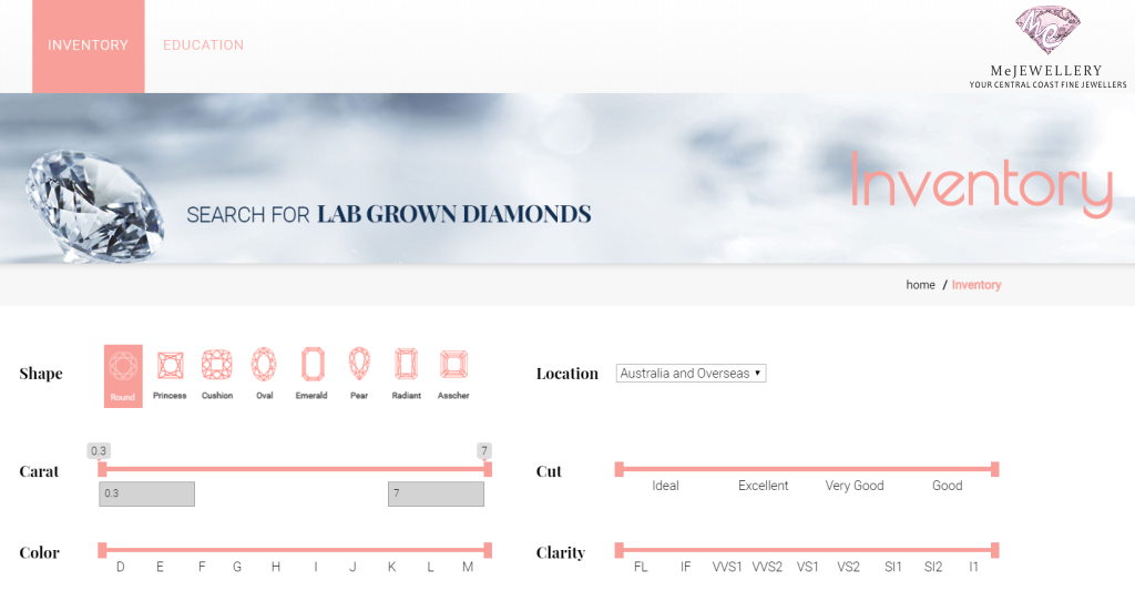 lab grown diamonds australia