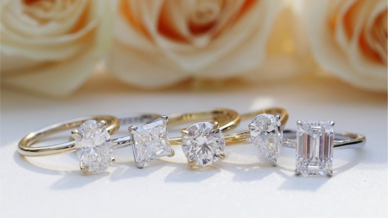 Fancy Cut Diamond Rings