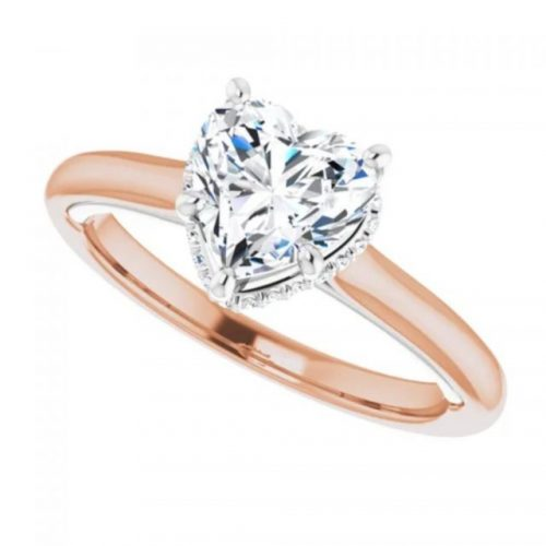 Classic Heart Engagement RIng